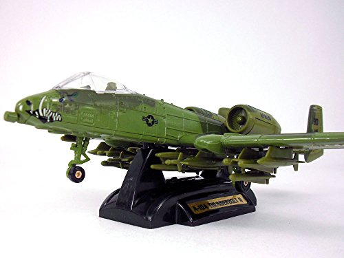 A-10 Thunderbolt II - Warthog Mouth Nose Art - 1/72 Scale Diecast Metal Model (Diecast A10 Model Warthog)