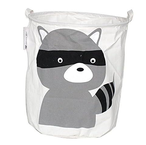 Premium Decor FLB-312 Fabric Foldable Canvas Laundry Basket - Divine Mesh
