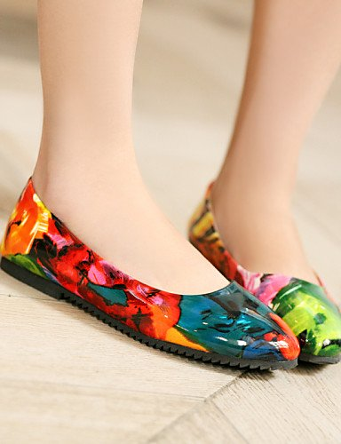 5 Eu34 Uk5 Zapatos us7 Cn33 De Puntiagudos Uk2 Mujer Cn38 Vestido 5 Color 5 Multicolor Exterior Zq 5 Color 2 Semicuero 4 Bajo Eu38 Tac¨®n Casual us4 Multi Planos Yyz UpqWn1