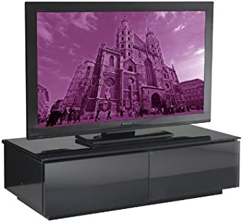 UK-CF Vienna negro brillante con función de atril muebles de TV: Amazon.es: Electrónica