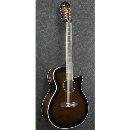 Ibanez AEG1812II AEG 12-String Acoustic-Electric Guitar Dark Violin