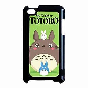 Studio Ghibli Japanese Cartoon Case Cover For iPod Touch 4th Hard Plastic funda My Neighbor Totoro