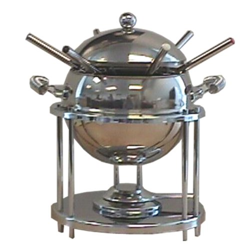 Reston Lloyd 11-Piece Stainless-Steel Fondue Set