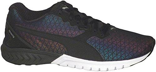 PUMA Women's Ignite Dual Prism Wn's Running Shoe, Puma Black, 9 M US