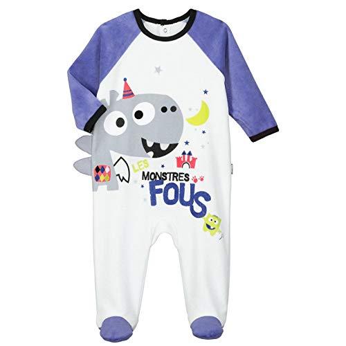 Pyjama bébé velours Don't Panic - Taille - 36 mois (98 cm)
