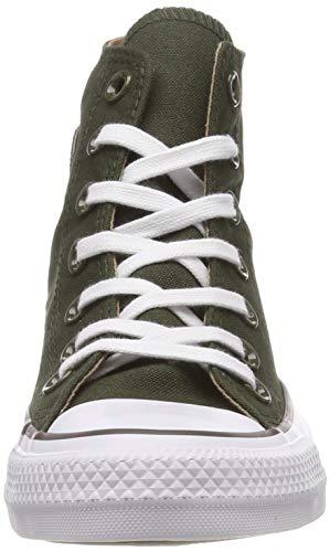 teak All white Green Altas Unisex Zapatillas utility Chuck Verde Adulto 316 Converse Star Taylor 6PWZE