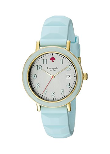 kate spade new york Women's 1YRU0804 Metro Analog Display Japanese Quartz Blue Watch
