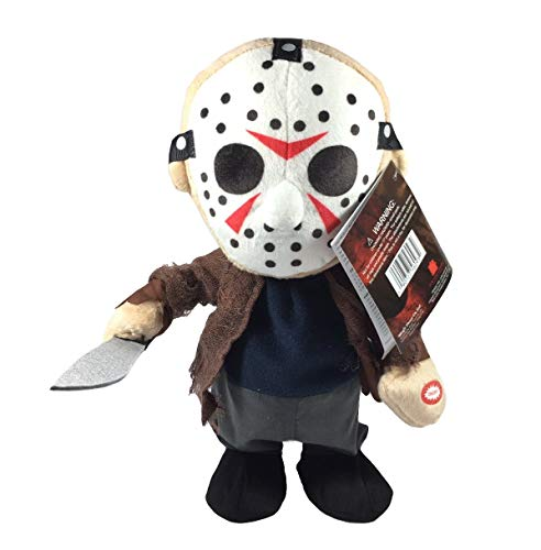 Magic Power Company Animated Plush Halloween Toy (Jason-Friday The 13th) -