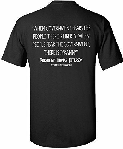 American Uprising Thomas Jefferson Patriotic T-Shirt