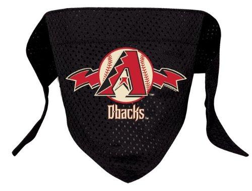 Arizona Diamondbacks Pet Dog Baseball Jersey Bandana S/M