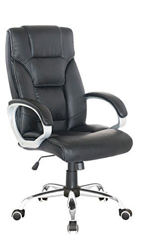 Ergonomic Executive High Back Black Office Chair Black