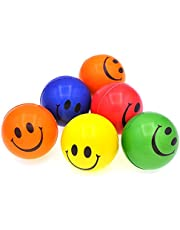MTRADE Smile Face Stress Ball, Assorted Color,Multi