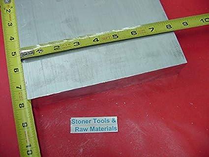 "1-1//2/"" X 3/"" ALUMINUM 6061 FLAT BAR 5/"" long Solid T6511 New Mill Stock 1.50/"""