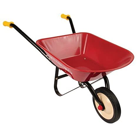 Charmant Child Sized Steel Wheelbarrow For Real Gardening Jobs
