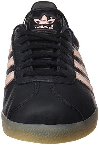 adidas Gazelle, Zapatillas Unisex Adulto Multicolor (Core Black/Vapour Pink/Gum)