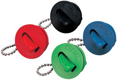 Replacement Gas Cap for Hose Deck Fill, Red by Sea Dog Line