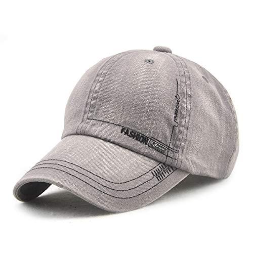 de sólido los Aire béisbol de Simple GLLH qin Sol Color Hombres Libre Viejo C Ocio Casquillo Sombrero de E al Sombreros del Sombrero hat 0ppvxqY