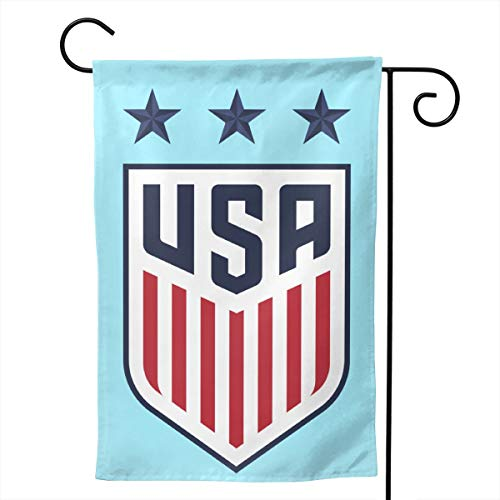 (51QIUflag United States Women's National Soccer Team Home Garden Flag Double Sided Outdoor Decorative Flag 12.5