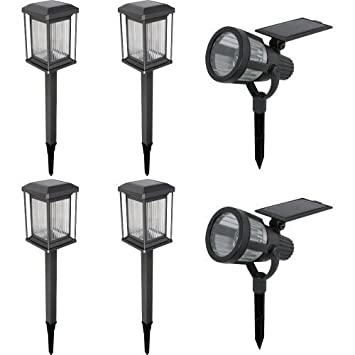 Malibu 6 pack solar led light kit powered by sunlight and malibu 6 pack solar led light kit powered by sunlight and automatically lights up at aloadofball Images