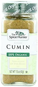 The Spice Hunter Cumin, Ground, Organic, 1.5-Ounce Jar