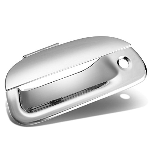 For Explorer Sport Trac/F-Series Super Duty Tail Gate Exterior Door Handle Cover with Keyhole (Chrome)