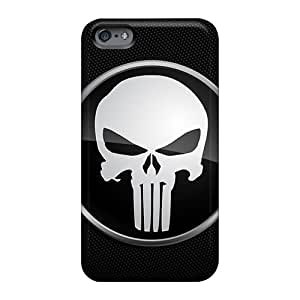 Scratch Resistant Hard Phone Case For Apple Iphone 6 Plus (fAy11608NRyh) Custom Beautiful Punisher Logo Pictures