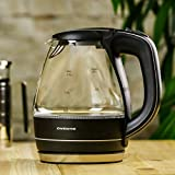 Ovente Electric Hot Water Portable Glass Kettle