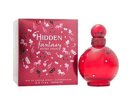 Midnight Fantasy Britney Spears - Hidden Fantasy By Britney Spears Hidden Fantasy for Women Eau De Parfum Spray, 3.3 Ounce