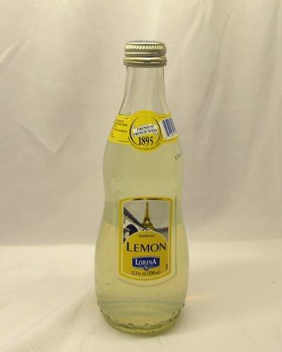 Lorina Sparkling Lemonade, 11.1 Ounce Bottles (Pack of 24)