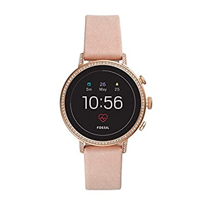 Fossil Women's Gen 4 Q Venture HR Stainless Steel Touchscreen Smartwatch by Fossil