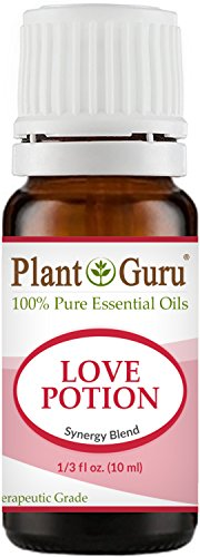 Making Love Massage Oil (Love Potion Synergy Essential Oil Blend 10 ml. 100% Pure, Undiluted, Therapeutic Grade.)