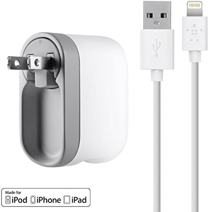 Amazon.com: Belkin USB Swivel Home and Wall Charger with ...