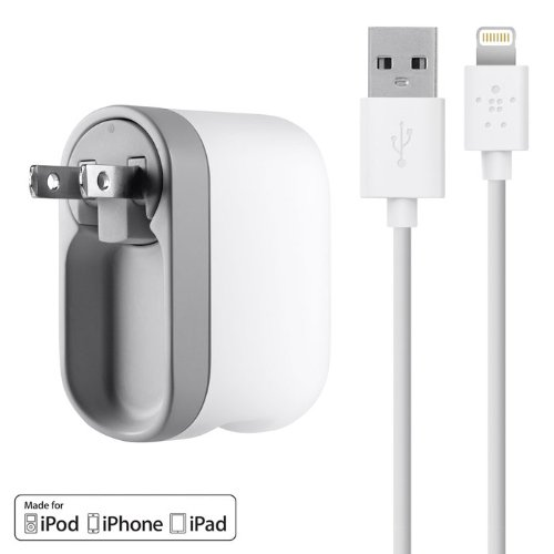Swivel Home Charger w/1.2m Lightning
