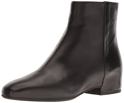 Aquatalia Women's ULYSSAA Calf Ankle Boot, Black, 8.5 M US