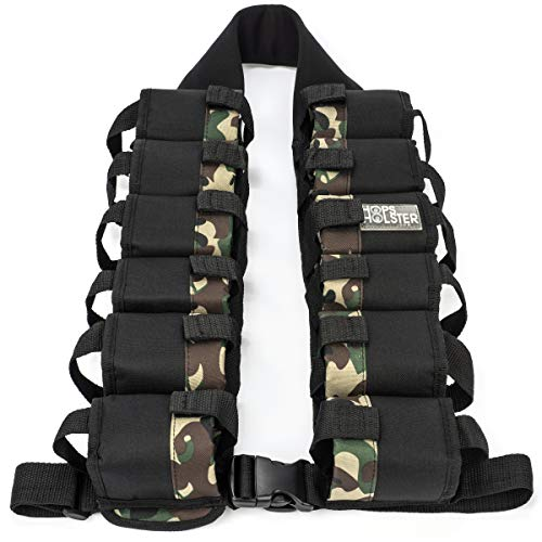 Hopsholster Ammo Pack 12 Can Holster Camoflage Edition ()
