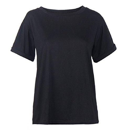 Culater® Femmes Modèle à manches Courtes T-shirt Sport Shirt Tops Blouse