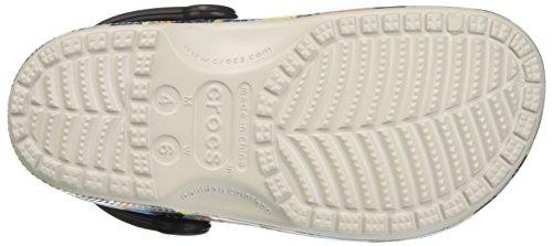 Crocs 204063, Zuecos Unisex Adulto Multicolor (Pearl White)