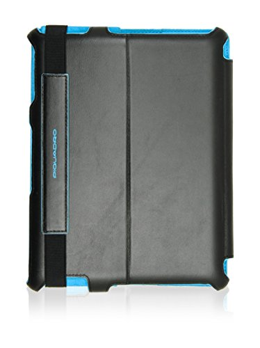 Piquadro 2 Antracite iPad Square Custodia Blue wxBSqx4OP