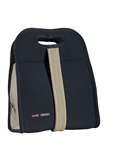 insulated lunch tote zippered - 8