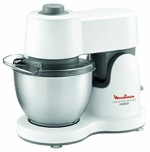 Moulinex masterchef compact robot de cocina color blanco 360 mm 170 mm 300 mm acero - Robot cocina masterchef ...