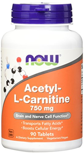 NOW Acetyl L Carnitine 750 Tablets