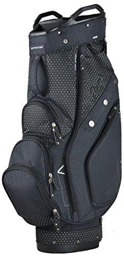 Sun Mountain 2017 Womens Diva Cart Bag Black/Black Womens Golf Cart Bag