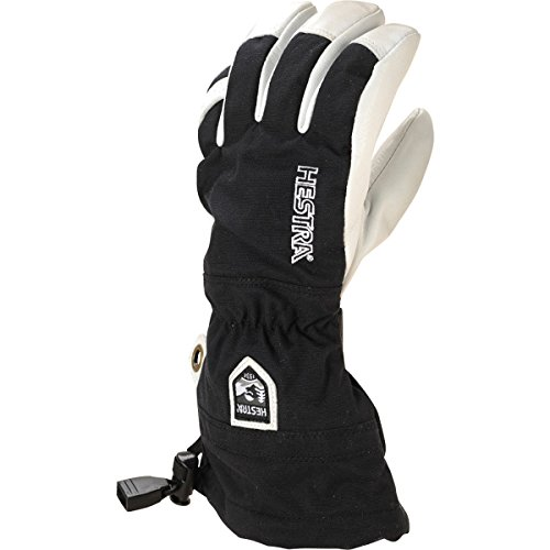 Hestra Heli Ski Glove Kid's- Black 5 by Hestra