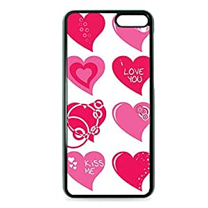 Case Fun Case Fun Pink Love Hearts Snap-on Hard Back Case Cover for Amazon Fire Phone