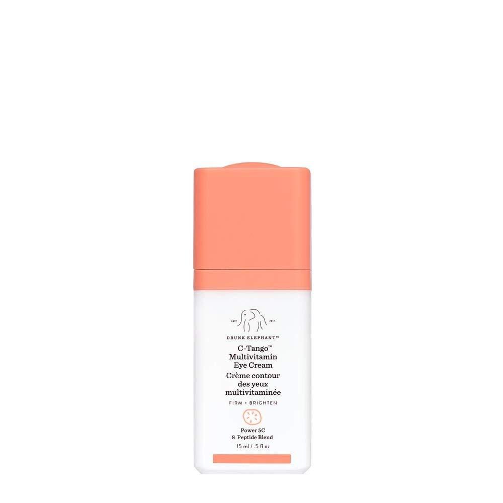 Drunk Elephant C-Tango Multivitamin Eye Cream. Brightening and Restorative Under Eye Cream with Vitamin C (.5 ounce)