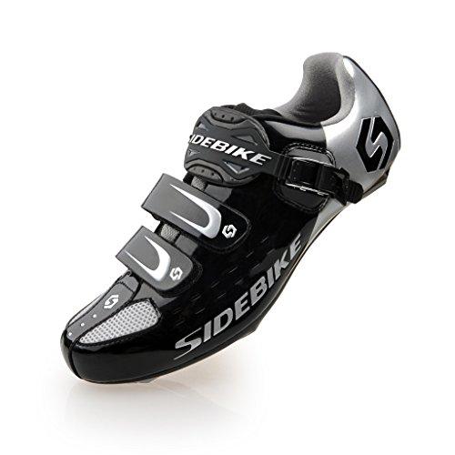 Chaussures Pédales Skyrocket Noir De Aux amp;argenté Vélo Fixation Avec Route Noir Système Sd001 Pédale dfC8fxSqw