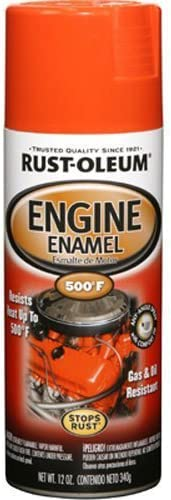 Rust-Oleum 248941 Automotive 12-Ounce 500 Degree Engine Enamel Spray Paint