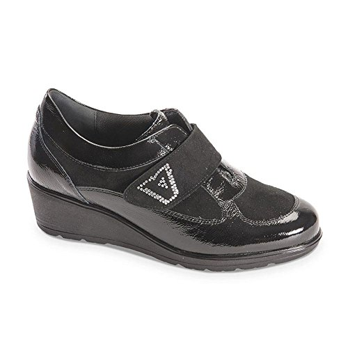 Nera Sneaker Donna In Valleverde Vernice Ef1Ywxxp