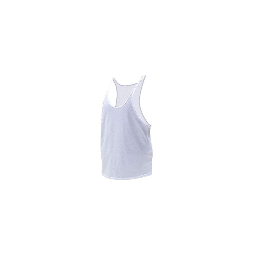 Racerback Golds Tank Gym Vest Flexz Fitness Muscle Tanktop Singlet Y-Back Stringer Mens Bodybuilding Vest