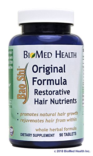 BioMed Health Bao Shi Original Formula Hair Nutrients 90 tablets